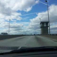 Photo taken at High Rise Bridge by Damien S. on 10/31/2012