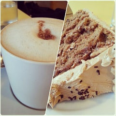 Photo taken at Calea Pastries and Coffee by David T. on 7/24/2013