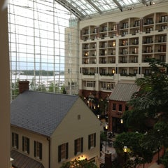 Photo taken at Gaylord National Resort & Convention Center by Monica F. on 5/14/2013