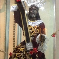Photo taken at Minor Basilica of the Black Nazarene (Quiapo Church) by Shyla G. on 2/2/2013