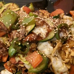 Photo taken at Hot Iron Mongolian Grill by James T. on 6/14/2014