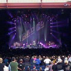 Photo taken at Sleep Country Amphitheater by Papa John on 6/22/2013