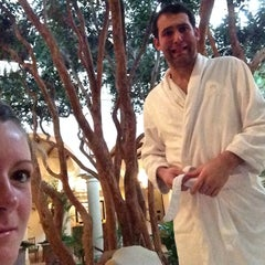 Photo taken at Spa At Sea Island by Emily S. on 12/20/2014