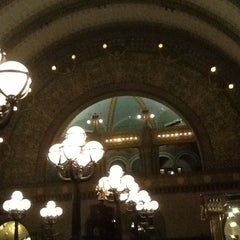 Photo taken at Grand Hall Lounge by Sean on 2/22/2013