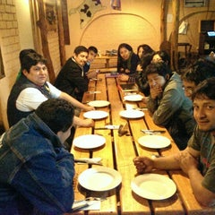 "Photo taken at Restaurant ""Donde Walter"" by Yuri Raul P. on 10/1/2014"