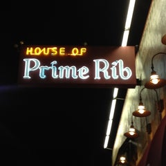Photo taken at House of Prime Rib by David H. on 10/13/2012