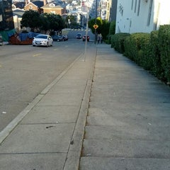 Photo taken at Fillmore Stairs by Tiff T. on 1/4/2013