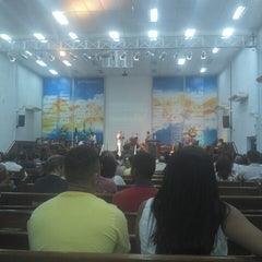 Photo taken at Igreja Batista em Renovação Espiritual Nova Jerusalém by Timóteo C. on 9/14/2013