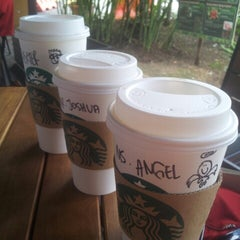 Photo taken at Starbucks by angel y. on 8/20/2014