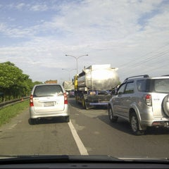 Photo taken at Exit tol curug / bitung by harjono s. on 2/28/2013