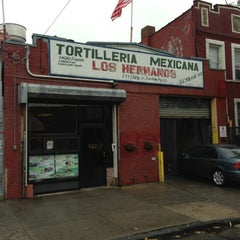 Photo taken at Tortilleria Mexicana Tres Hermanos by ishii k. on 10/19/2012