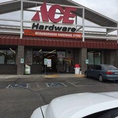 Photo taken at Ace Hardware by Jesse C. on 1/29/2015