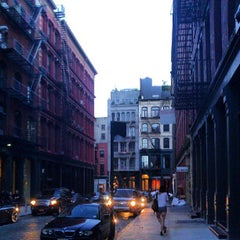 Photo taken at Crosby Street & Grand Street by Keilon L. on 7/6/2013