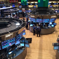 Photo taken at New York Stock Exchange by Dens on 10/15/2013