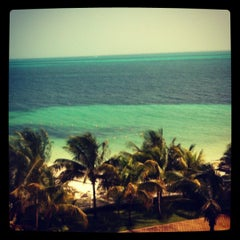 Photo taken at Hotel Riu Caribe by Gabriela F. on 8/22/2012