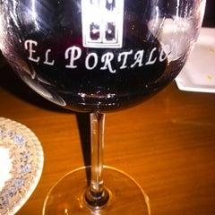 Photo taken at El Portalon De Rioja by Carlos L. on 1/5/2014