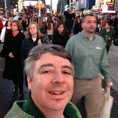 "Photo taken at Max Neuhaus ""Times Square"" by Kevin R. on 3/9/2013"