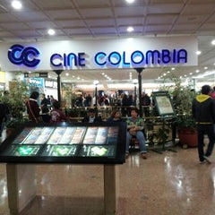 Photo taken at Cine Colombia by Jhon M. on 9/29/2012