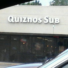 Photo taken at Quiznos by Katilyn W. on 7/12/2013