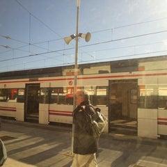 Photo taken at RENFE L'Hospitalet de Llobregat by Anna O. on 1/28/2013