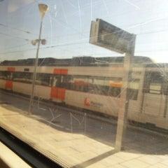 Photo taken at RENFE L'Hospitalet de Llobregat by Anna O. on 10/23/2012