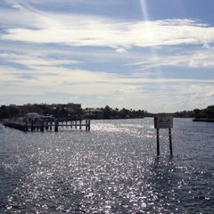 Photo taken at Highland Beach by Aaron W. on 12/25/2012