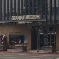Photo taken at The GRAMMY Museum by Samira Q. on 2/7/2013