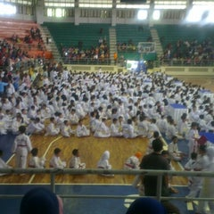 Photo taken at GOR C-Tra Arena by Berny I. on 12/21/2014