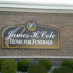 Photo taken at James Cole funeral Home by Brian A. on 4/18/2015