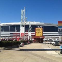 Photo taken at Georgia Dome by Jorge Eduardo M. on 1/20/2013