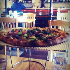 Photo taken at Howie's Artisan Pizza by Ramanath B. on 12/2/2012