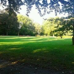 Photo taken at Magdalenapark by Stijn V. on 9/27/2012