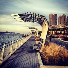 Photo taken at Hudson River Park by Russian Hills on 11/19/2012