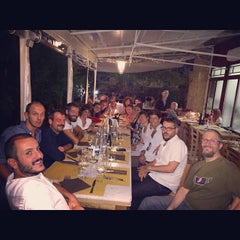 Photo taken at Osteria Al Nove by Andrea S. on 8/3/2015