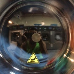 Photo taken at Federal Hill Laundromat by Adrian on 4/27/2014