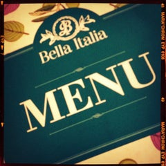 Photo taken at Bella Italia by Valery V. on 9/15/2012