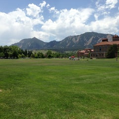 Photo taken at University of Colorado Boulder by Rod R. on 6/21/2013
