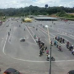 Photo taken at Complexo de Treinamento de Direção Veicular  - DETRAN/AM by Arthur L. on 4/19/2013