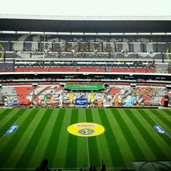 Photo taken at Estadio Azteca by Raúl V. on 5/18/2013