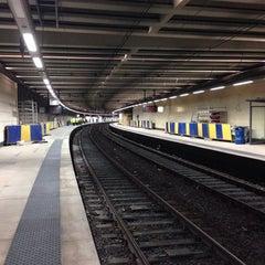 Photo taken at Gare de Bruxelles-Schuman / Station Brussel-Schuman by Gerry D. on 9/22/2013