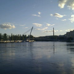 Photo taken at Laukonsilta by Sergey I. on 8/22/2013
