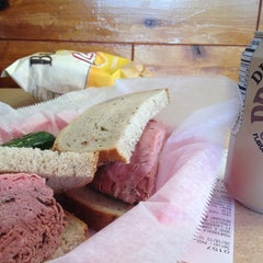 Photo taken at Pomperdale New York Style Deli by Gilbert M. on 5/18/2013