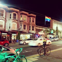 Photo taken at MUNI Bus Stop - Castro & 17th by Mário L. on 4/26/2015