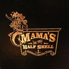 Photo taken at Mama's on the Half Shell by Ben S. on 3/14/2013