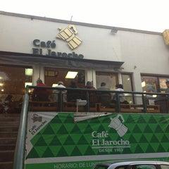 Photo taken at Café El Jarocho by Yunue on 2/18/2013