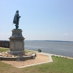 Photo taken at Historic Jamestowne by Shannon on 7/24/2013
