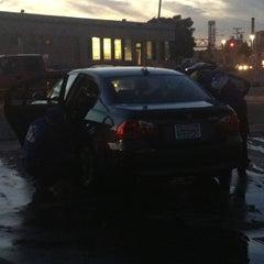 Photo taken at High Street Car Wash by Cherilynn A. on 12/28/2012
