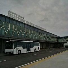 Photo taken at Bandara Sultan Babullah (TTE) by Juni H. on 8/19/2014