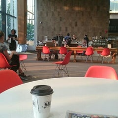Photo taken at Kitchener Public Library - Central by Ashley H. on 9/2/2015