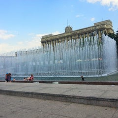 Photo taken at Московская площадь by Dian K. on 6/4/2013
